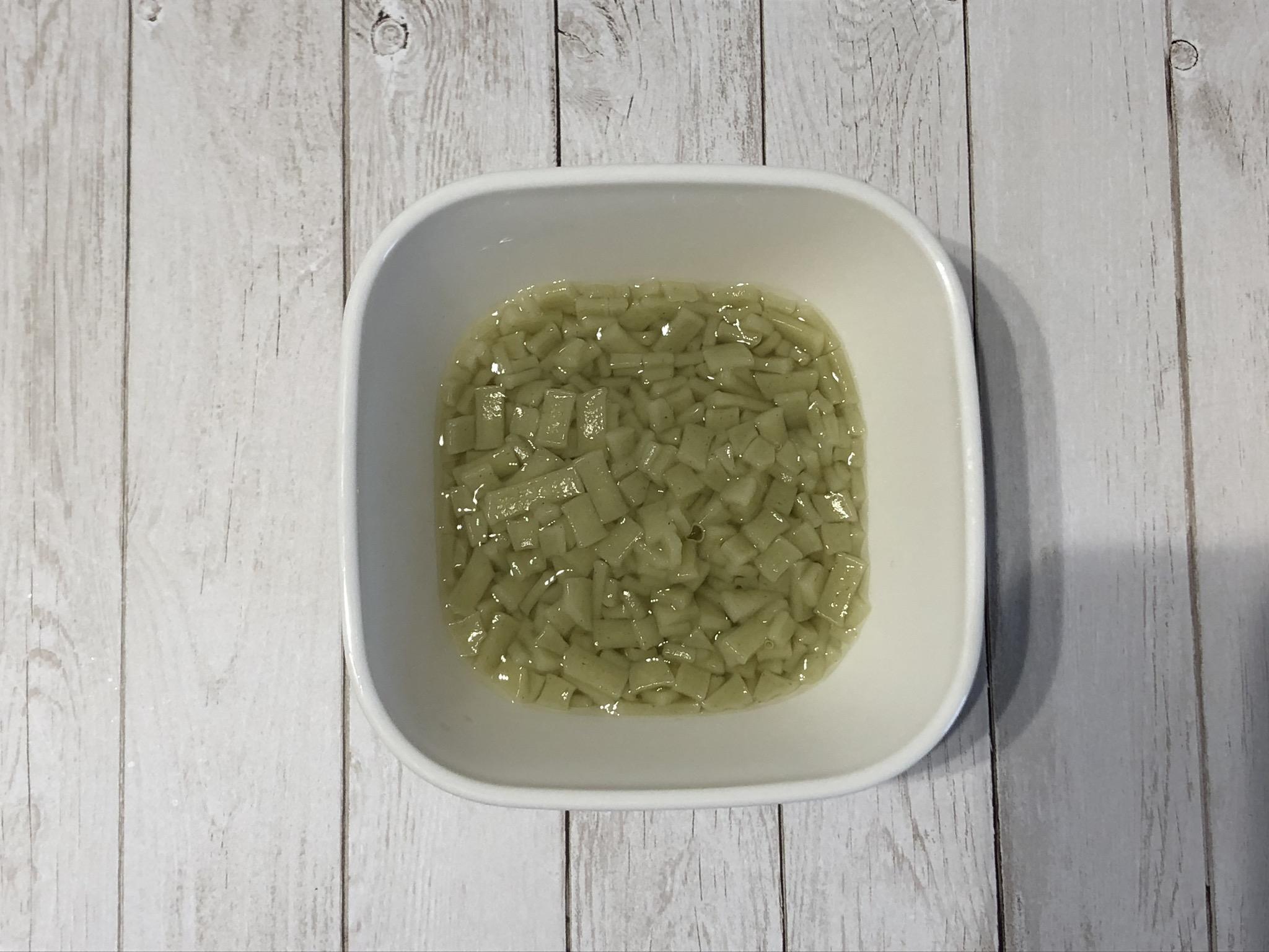 ベビーのうどん10種の緑黄色野菜